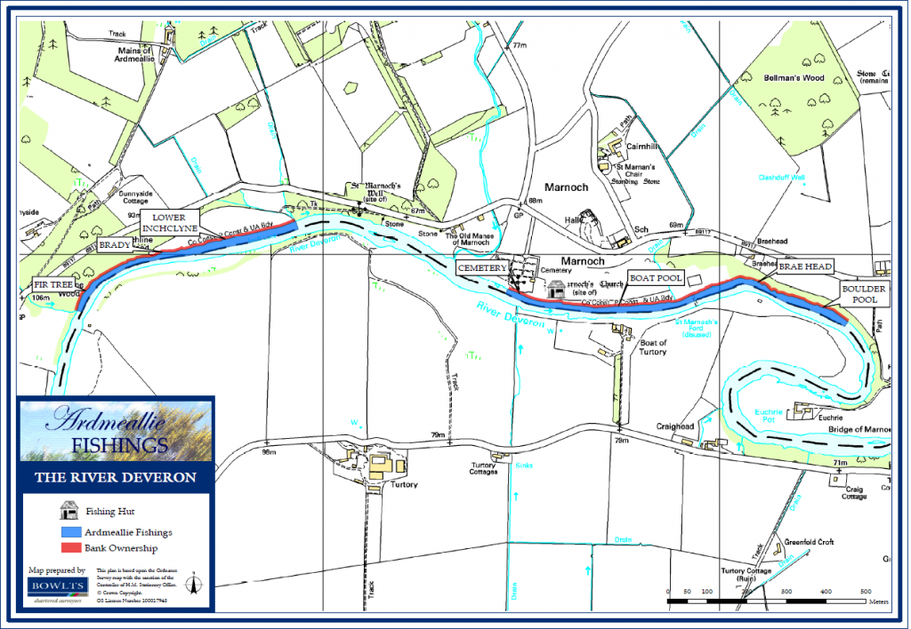Ardmeallie Beat Map - River Deveron