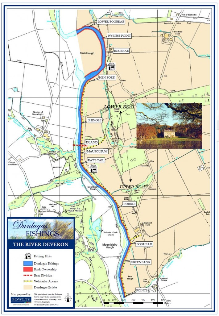 Dunlugas Beat Map - River Deveron