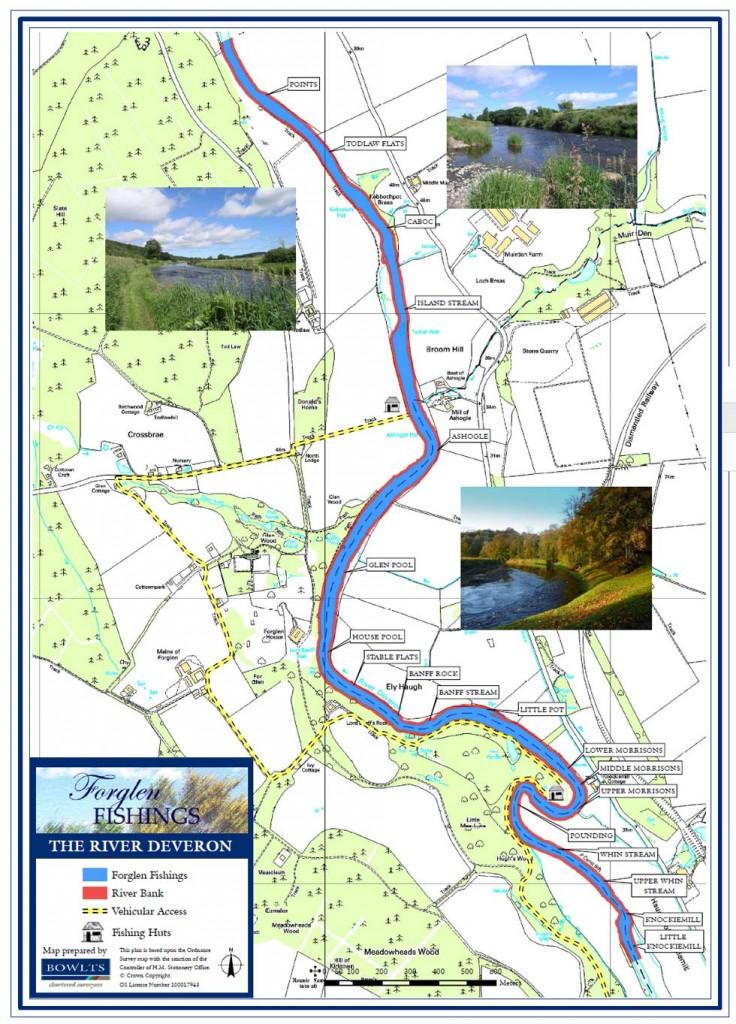 Forglen Beat map - River Deveron