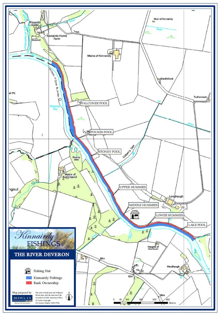 Kinnairdy Beat Map - River Deveron