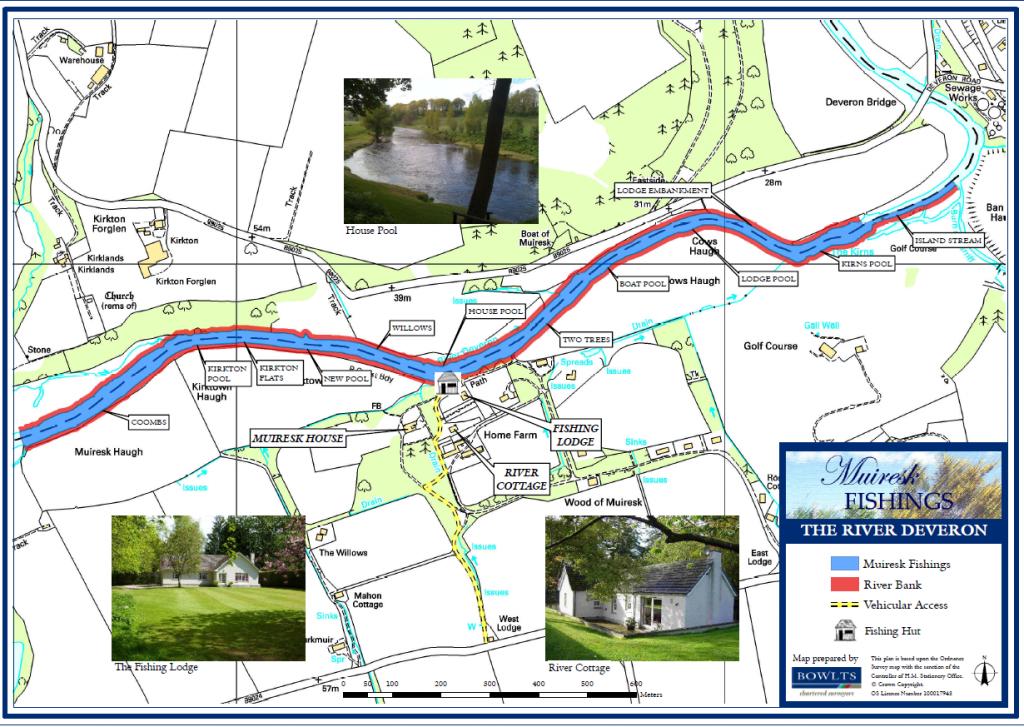 Muiresk Beat Map River Deveron