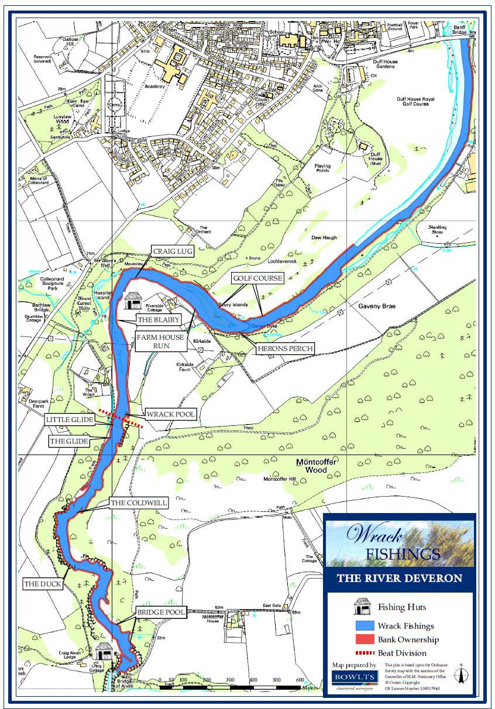 Wrack Beat Map - River Deveron